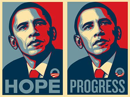 Obama - Håb - Fremskridt