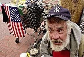 hvor sover hjemløse