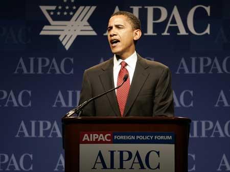 Obama taler til/for den israelske lobby i USA AIPAC