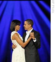 Præsidenten danser