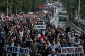 Minearbejderprotest_Ukraine