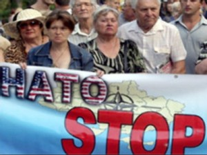 UKRAINE-DEFENCE-NATO-SEA BREEZE EXERSICES-PROTEST