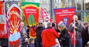 demo mod TISA Norge