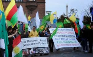 kurdisk protest
