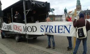nej_til_krig_mod_syrien_banner
