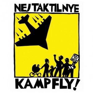 Nej tak til nye kampfly - logo