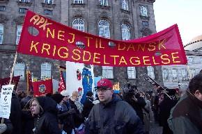 Nej til dansk krigsdeltagelse_Christiansborg