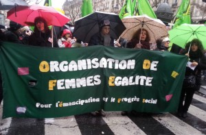 For emancipation and social progress, organization of women Equality