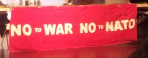 no to war - no to NATO