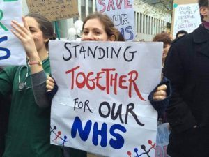 NHS doctors strike