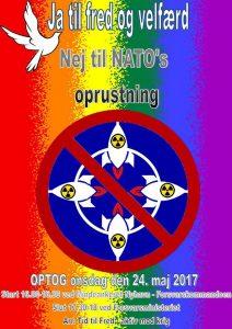 Optog mod NATOs topmøde