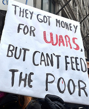 got money for wars