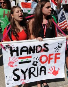 hands off syria copy