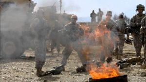militær affaldsafbrænding