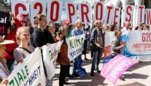 G20 klimaprotest