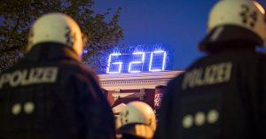 G20 - polizei