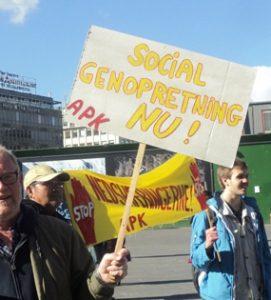 social genopretning nu