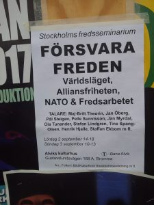 Plakat Stockholm