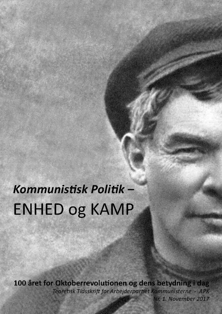 Tidsskriftet Kommunistisk Politik – ENHED og KAMP