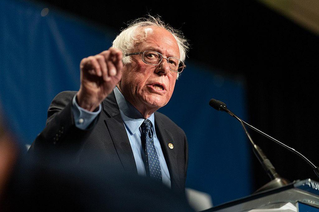 Bernie Sanders er ingen fredsdue